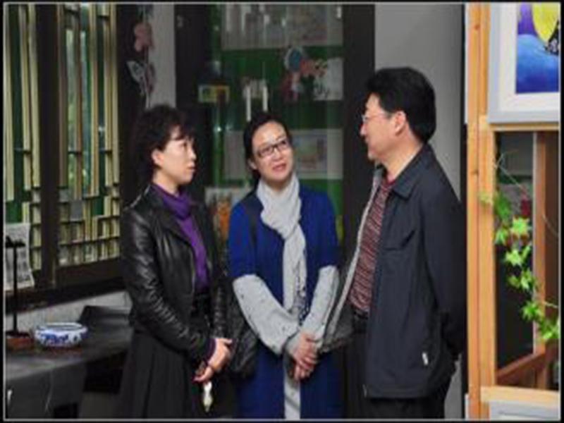 美著名学者拜访千峰草堂