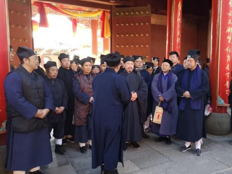 云南省道教协会组织教职人员赴山东学习考察交流